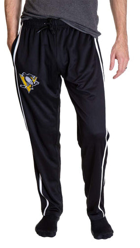 NHL Men's Striped Training Pant- Pittsburgh Penguins