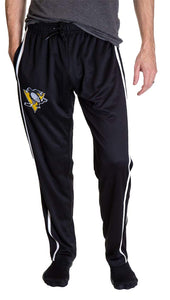 Pittsburgh Penguins Striped Training Pants for Men