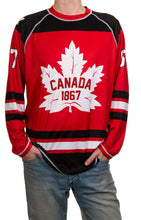 Load image into Gallery viewer, Men's Canada 67 Long Sleeve Rashguard Full Front View