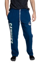 Load image into Gallery viewer, Vancouver Canucks Premium Fleece Sweatpants Front View.