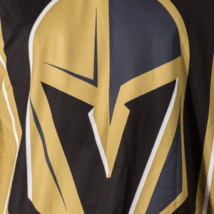 NHL Mens Performance Long-Sleeve Rash Guard-Vegas Golden Knights Logo