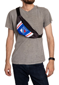 NHL Unisex Adjustable Fanny Pack- New York Rangers Crossbody