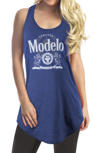 Ladies Modelo Flowy Racerback Tank Top