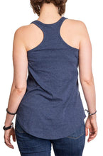 Load image into Gallery viewer, St. Louis Blues Distressed Flowy Tank Top for Women