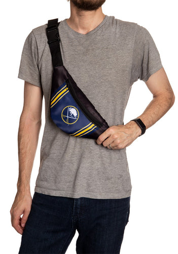 NHL Unisex Adjustable Fanny Pack - Buffalo Sabres Crossbody