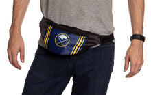 Load image into Gallery viewer, NHL Unisex Adjustable Fanny Pack - Buffalo Sabres Waist Bag