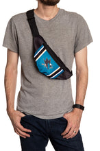Load image into Gallery viewer, NHL Unisex Adjustable Fanny Pack- San Jose Sharks Crossbody