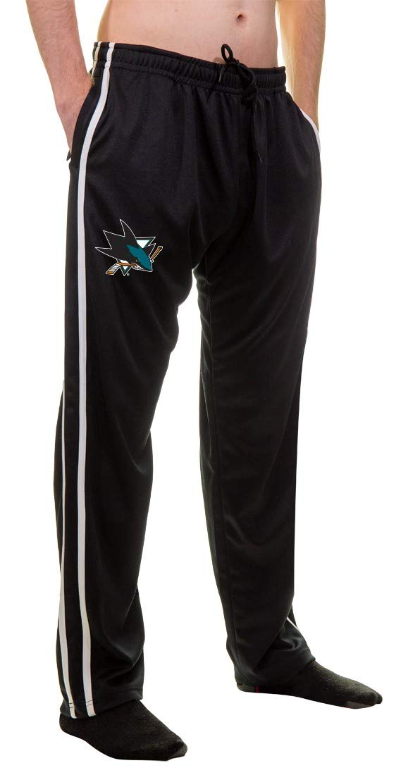 NHL Men's Striped Training Pant- San Jose Sharks