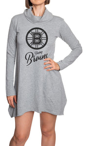 NHL Ladies Official Cowlneck Tunic- Boston Bruins Front