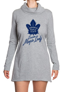 NHL Ladies Official Cowlneck Tunic- Toronto Maple Leafs Front