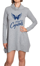 Load image into Gallery viewer, NHL Ladies Official Cowlneck Tunic- Washington Capitals Front