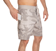 Load image into Gallery viewer, Nashville Predators Tan Camo Boardshorts Side View