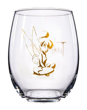 Load image into Gallery viewer, Disney Collectible Stemless Glass Set - Tinkerbell