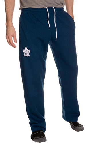 Toronto Maple Leafs Embroidered Logo Sweatpants Front View