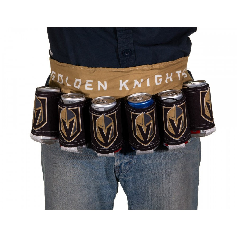 Novelty Beverage Holder Beer Belt- Vegas Golden Knights Waist