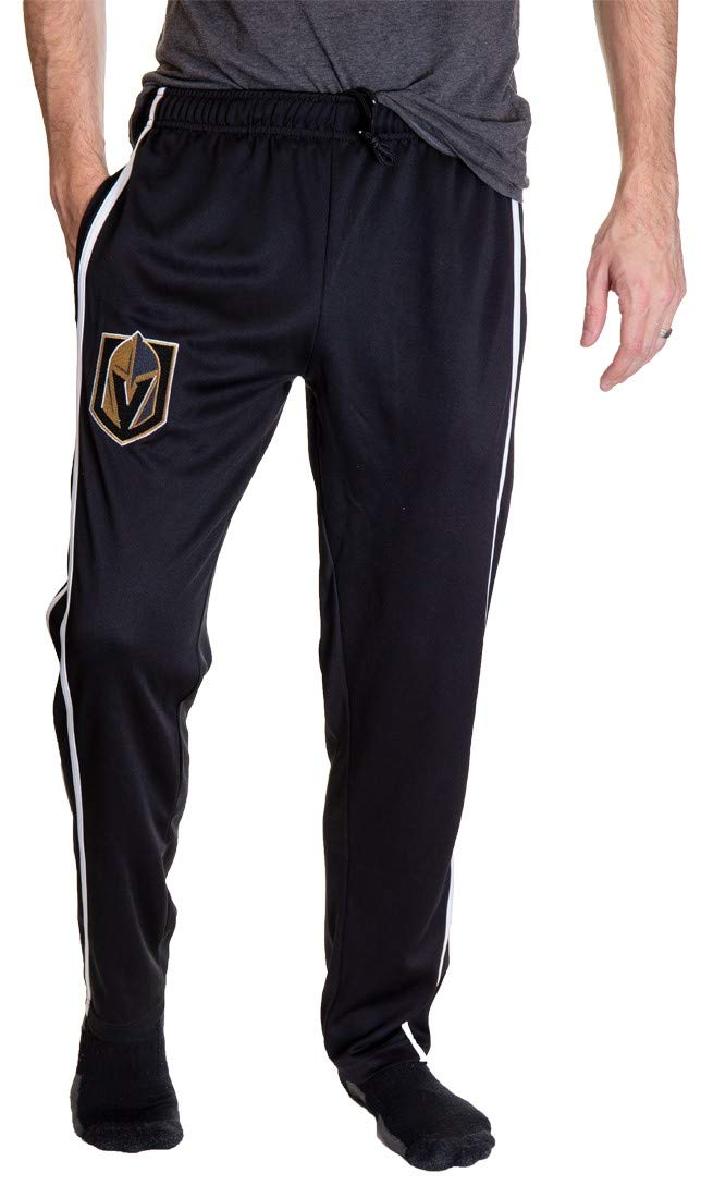 Vegas Golden Knights Striped Training Pants for Men