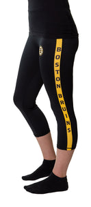 Boston Bruins Athletic Crop Leggings
