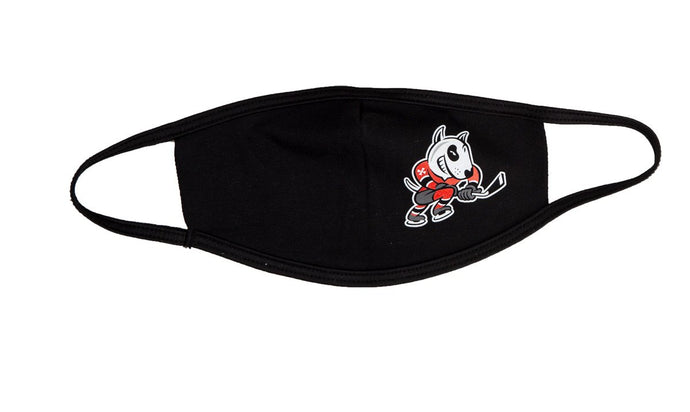 Niagara IceDogs Face Mask Black - 3 Pack