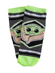 "Baby Yoda ""This is the Way"" Unisex Ankle Socks - 5 Pack"