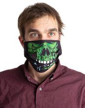 Load image into Gallery viewer, Zombie Halloween Face Mask - 3 Pack