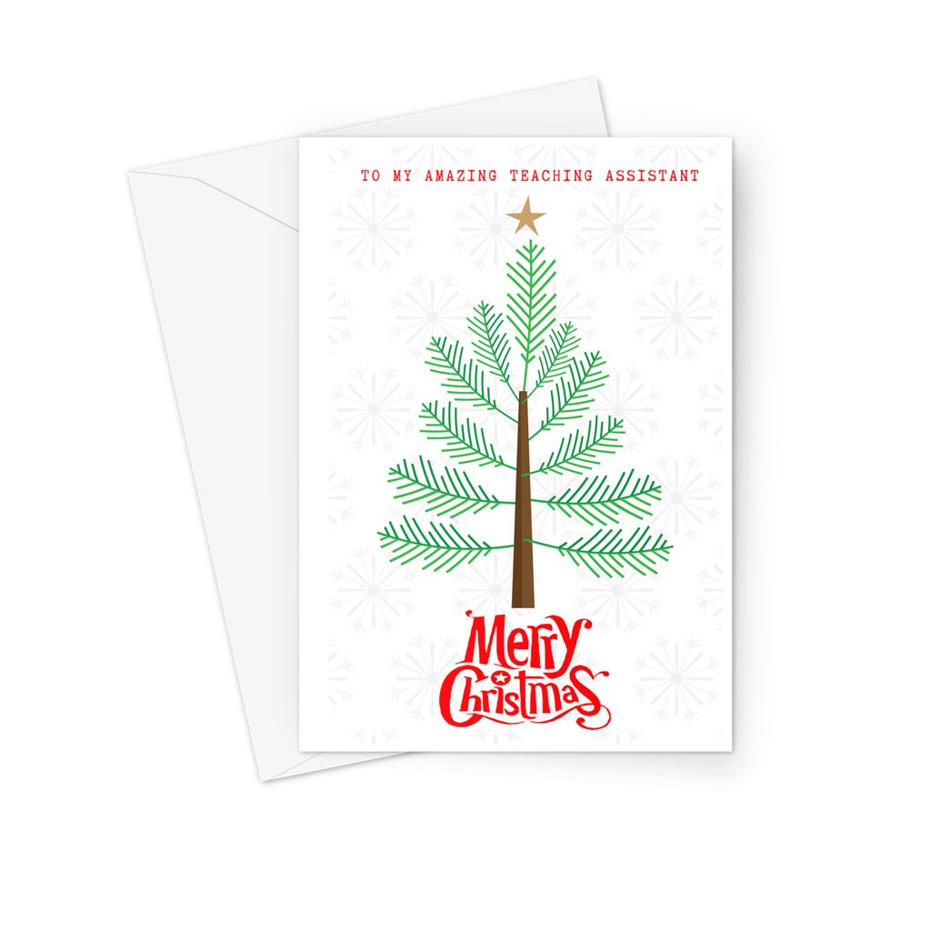 Teaching Assistant - Christmas Card