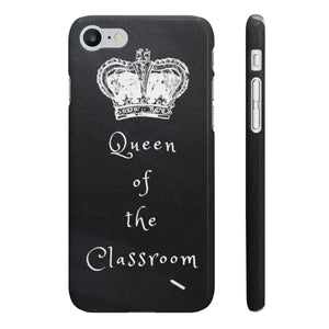 iPhone 'Queen of the Classroom' Case
