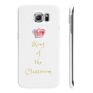 Samsung 'King of the Classroom' Case White