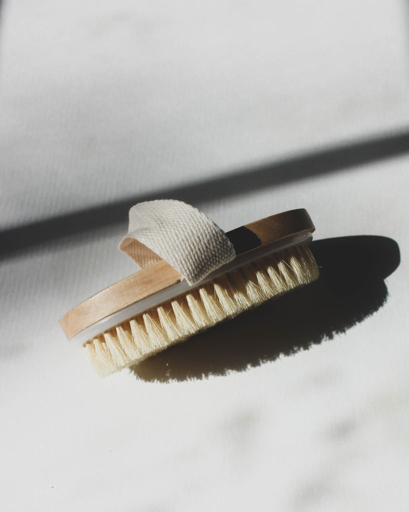 Body Brush, Dry Brushing, Natural Dry Brush