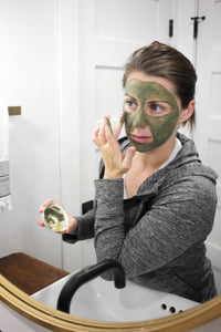 Detoxifying Power Greens Mask
