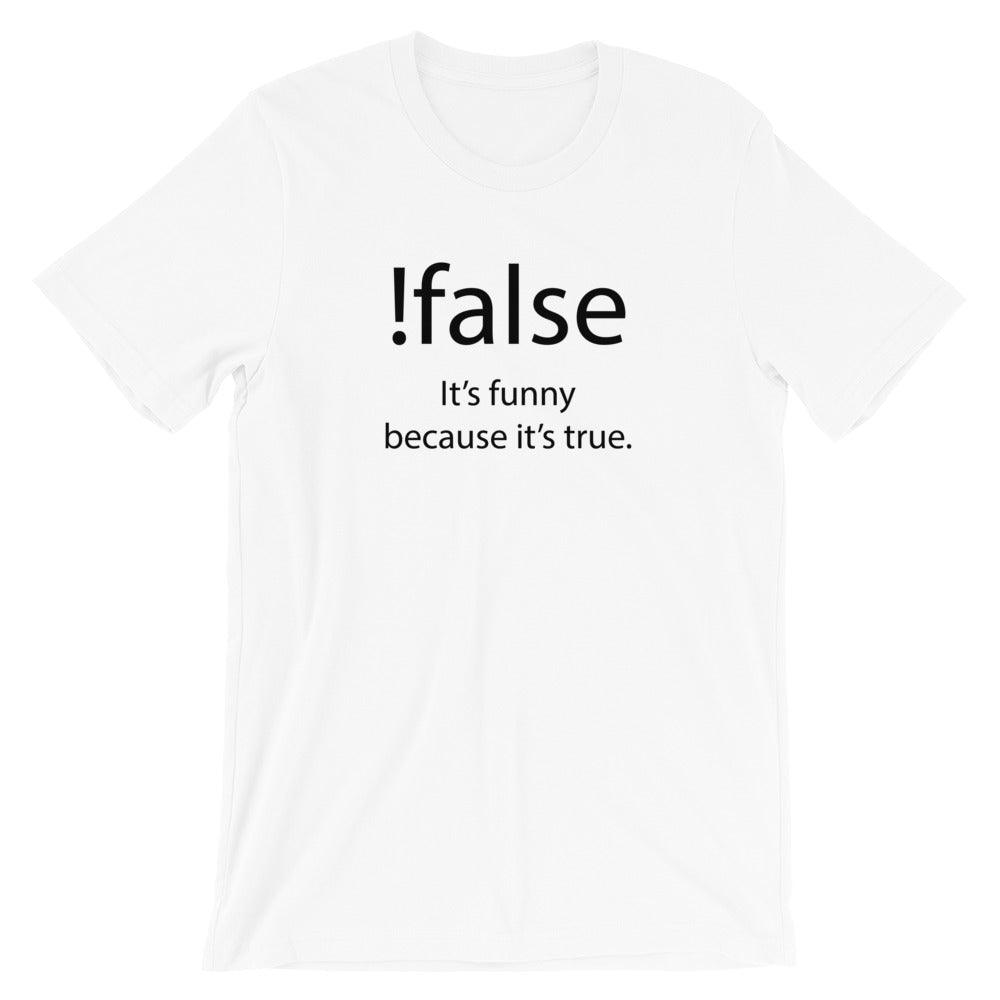 !false TShirt