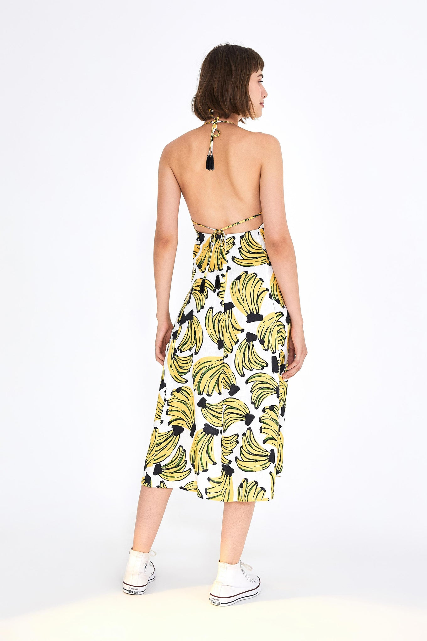 BOSSA BANANA MIDI DRESS