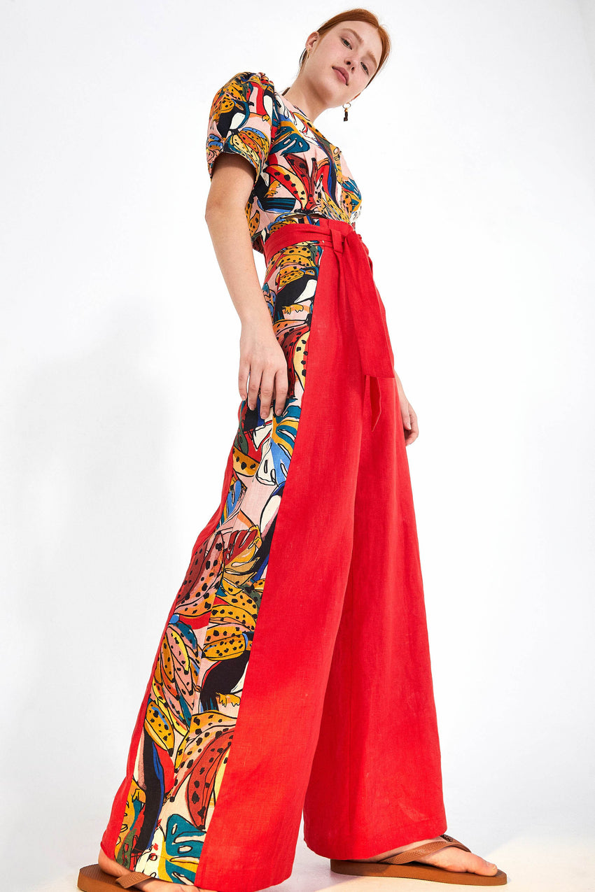 CRAZY TUCANOS WIDE LEG PANTS