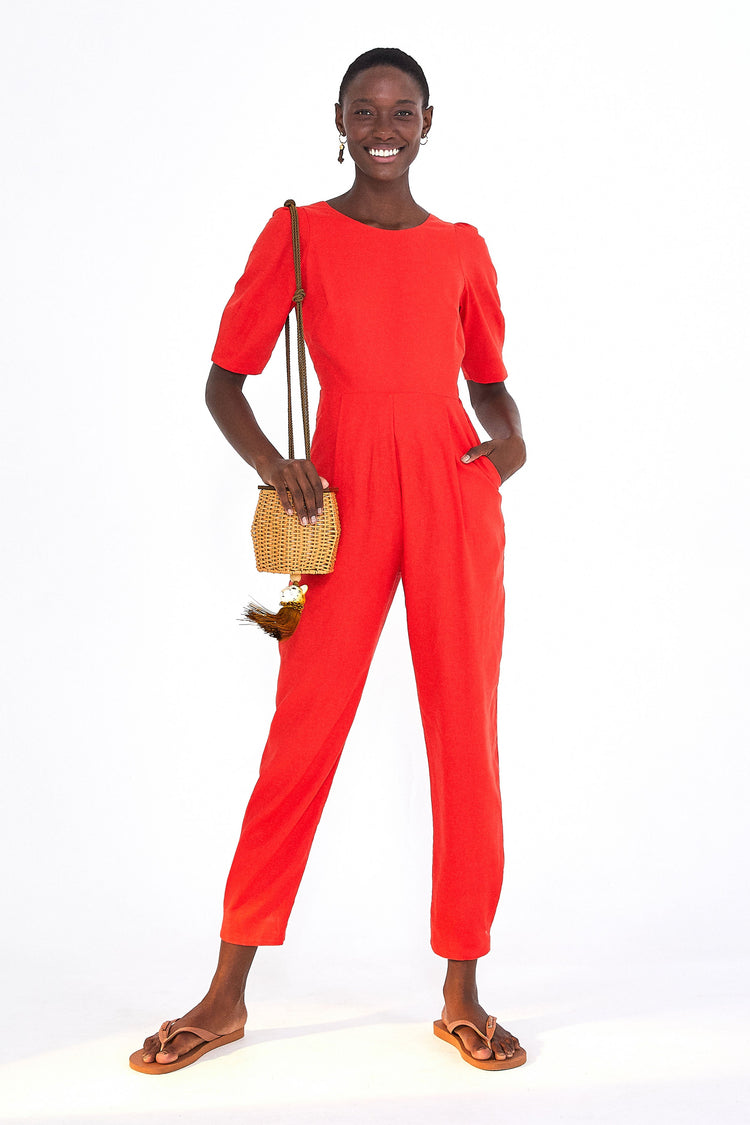 FITTED JUMPSUIT