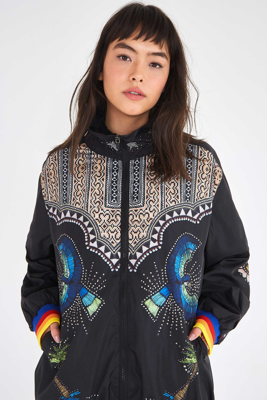 BLACK BOROGODO JACKET