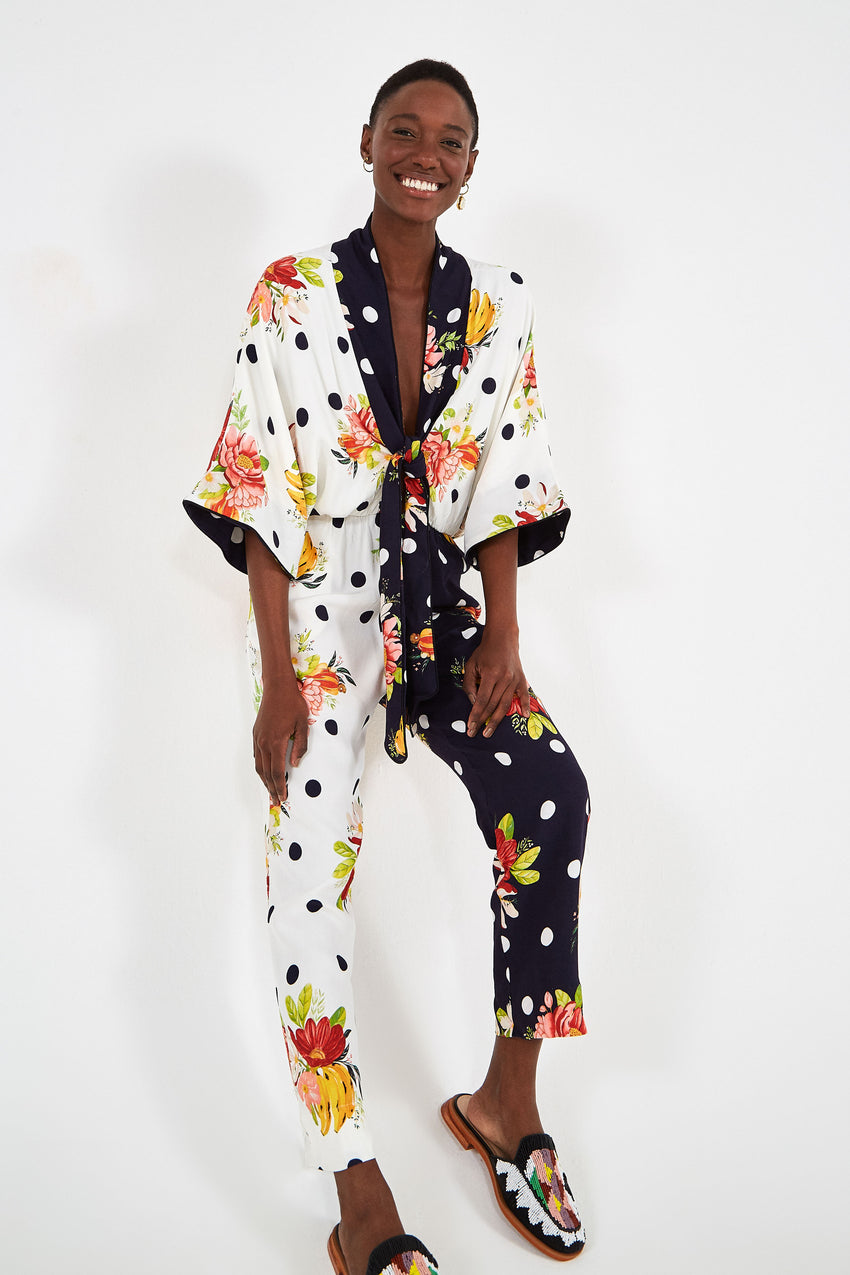 MIXED NANAJU JUMPSUIT