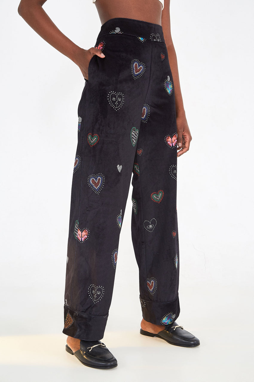 DARK HEARTS PANTS