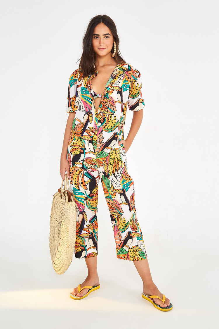 CRAZY TUCANOS JUMPSUIT