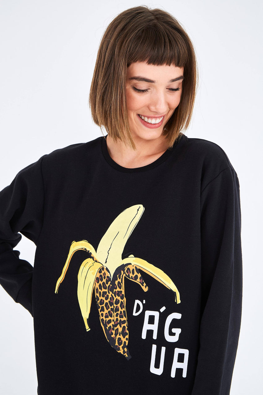 BLACK BANANA SWEATSHIRT