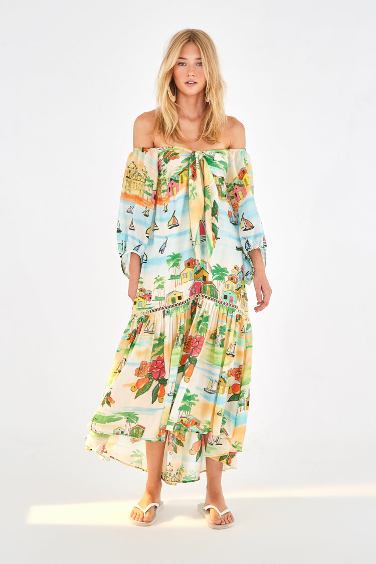 SUMMER SAIL MAXI DRESS