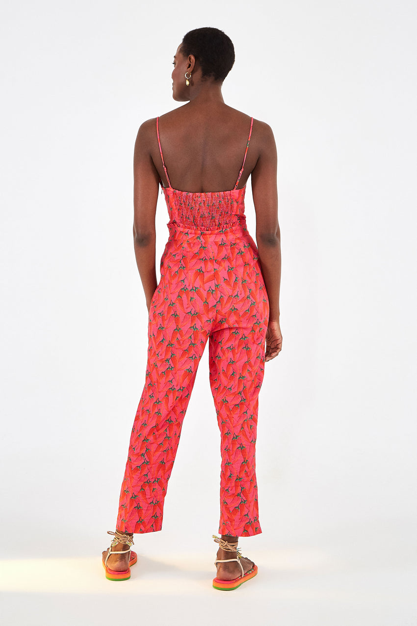 RED PEPPER JUMPSUIT