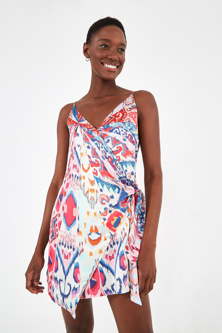 BOBOIKAT MINI WRAP DRESS