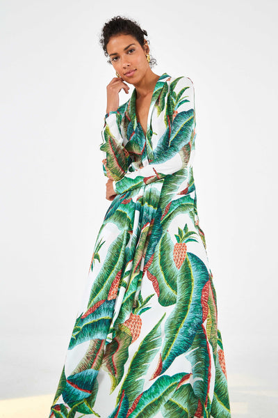 FOREST PALM MAXI DRESS