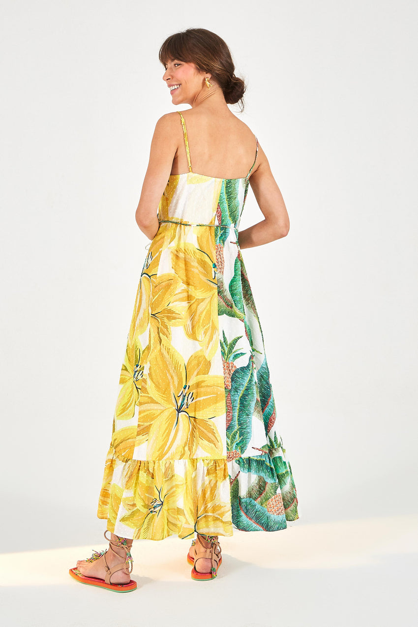 AZALEA FOREST WRAP DRESS