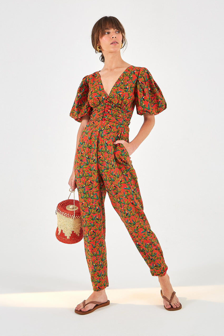 TUCANO PARADISE OPEN BACK JUMPSUIT