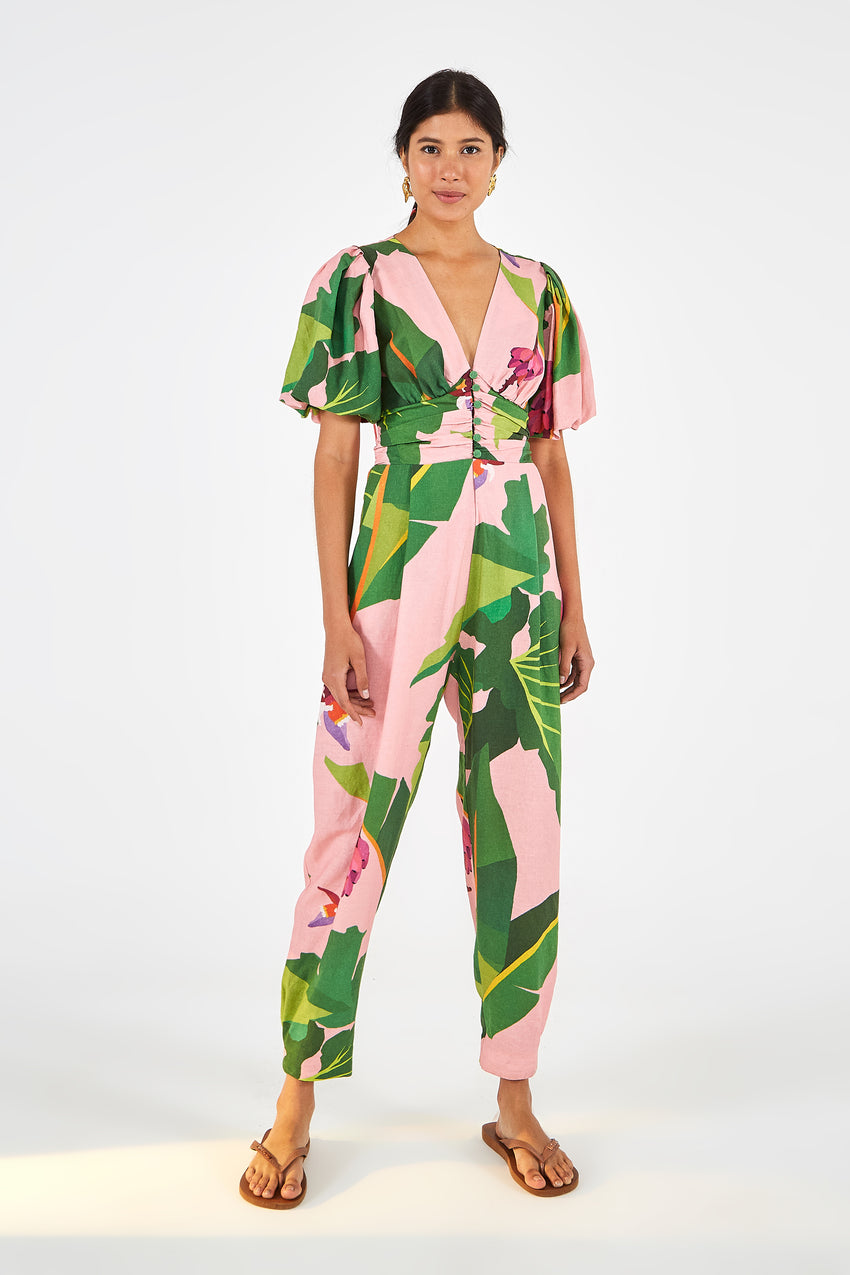 TROPICALISTIC JUMPSUIT