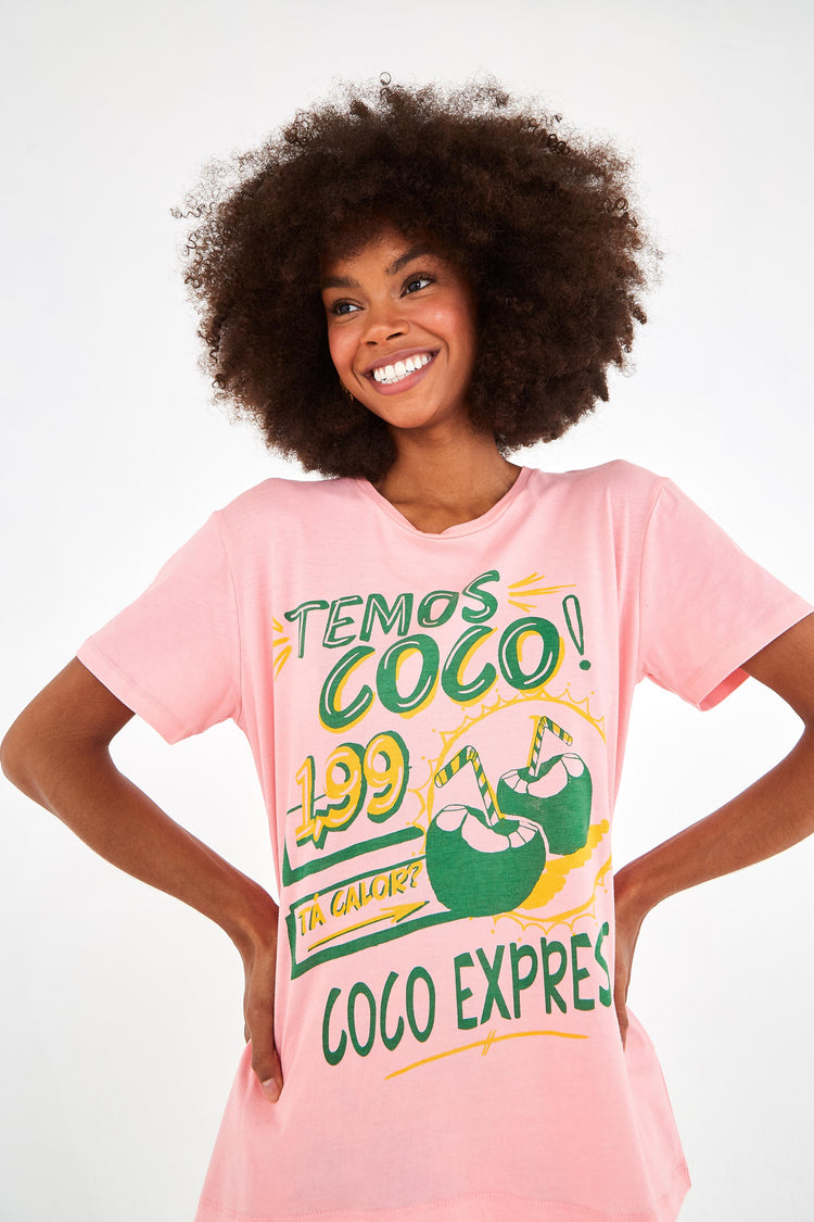 PINK COCO T-SHIRT