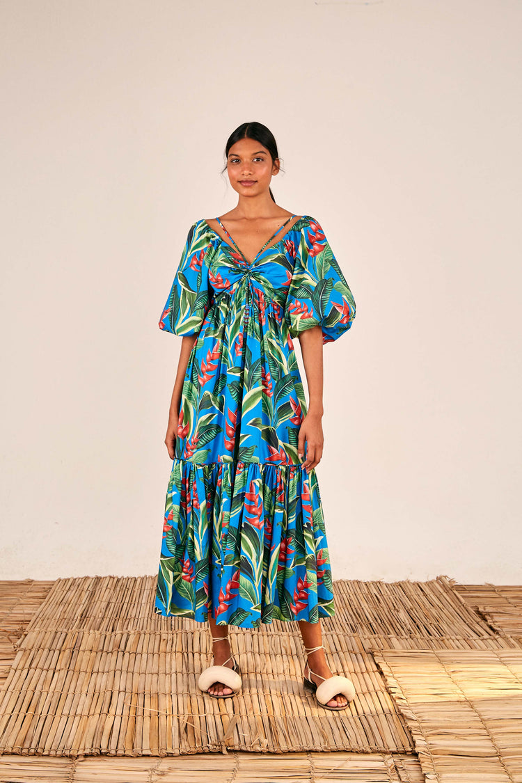 DREAM GARDEN MIDI DRESS