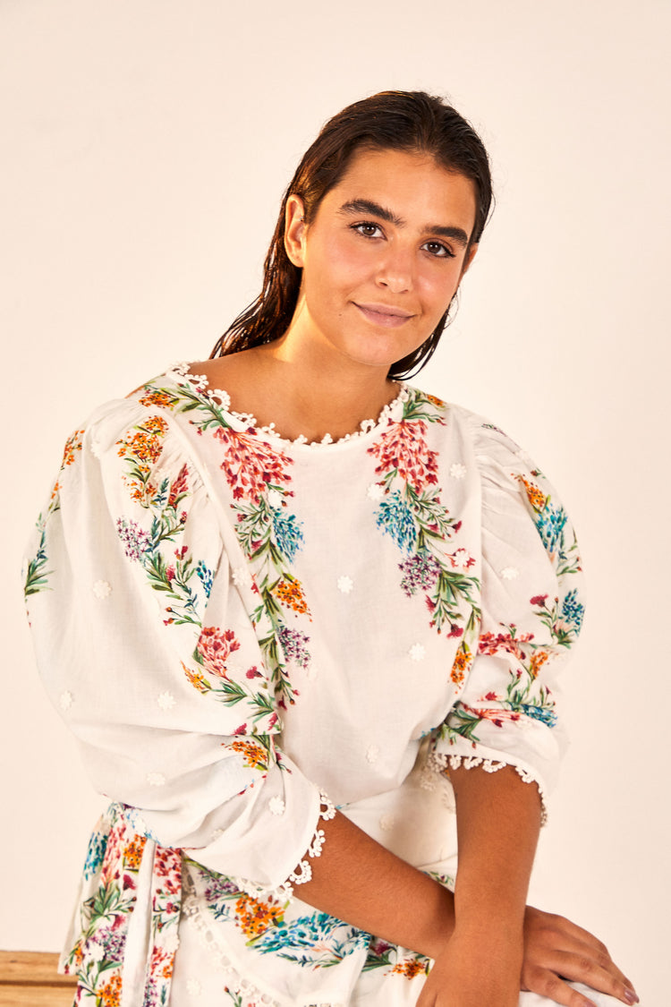 LOUISE FLORAL BLOUSE