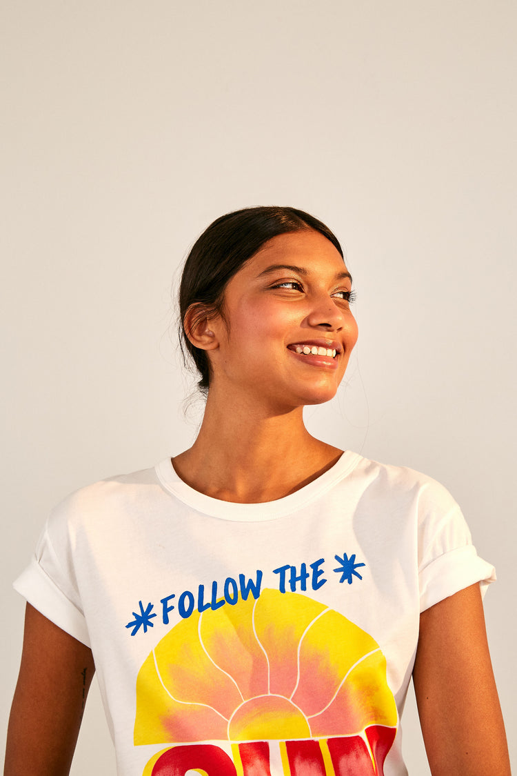 FOLLOW THE SUN T-SHIRT