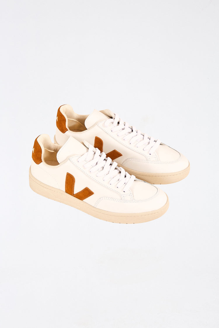 V 12 LEATHER EXTRA WHITE CAMELCAMEL